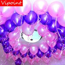 VIPOINT PARTY 100pcs 12inch green pink red orange latex ballon wedding event christmas halloween festival birthday party HY-353