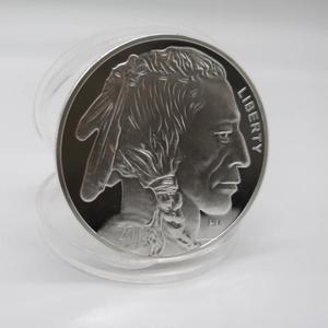 2015 Indian/Buffalo BU 1 oz .999 Silver Round-LIMITED USA MADE AMERICAN COIN Drop Shipping(China)