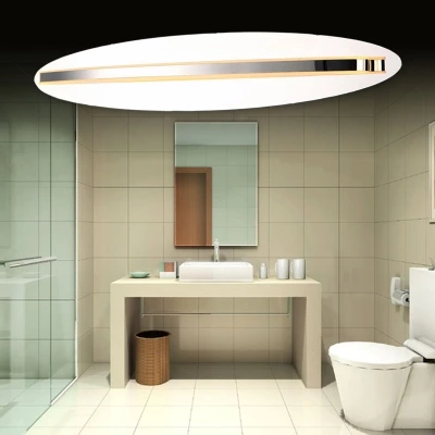 Simple Modern Wall Sconce Acrylic Waterproof Bathroom Wall Lamp LED Mirror Light Fixtures For Home Indoor Lighting Lampe Murale ascelina led mirror front lamp modern wall led lamps modern bathroom light wall sconce indoor wall lighting 14w 16w 20w 85 260v