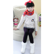 Pants With Fleece Children Winter Pants Girl Kids Girls Leggings Winter Warm Leggings Girl Teen Kids  Trousers
