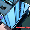 Touch Flip Stand Case For Samsung Galaxy S8 S9 Plus S6 S7 Edge S6Edge Note8 Note5