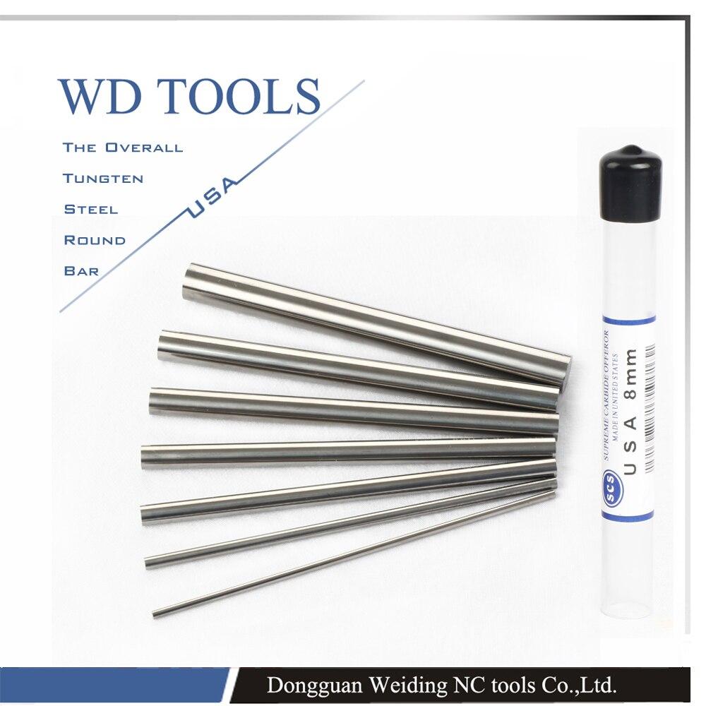 SCS Tungsten carbide rods CNC machine round bar cemented carbide rods цены