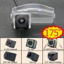 175 градусов 1080P рыбий глаз задний вид автомобиля камера для Mazda 2 2011 2012 2013 Mazda 3 Mazda 3 спортивный автомобильный парковочный монитор