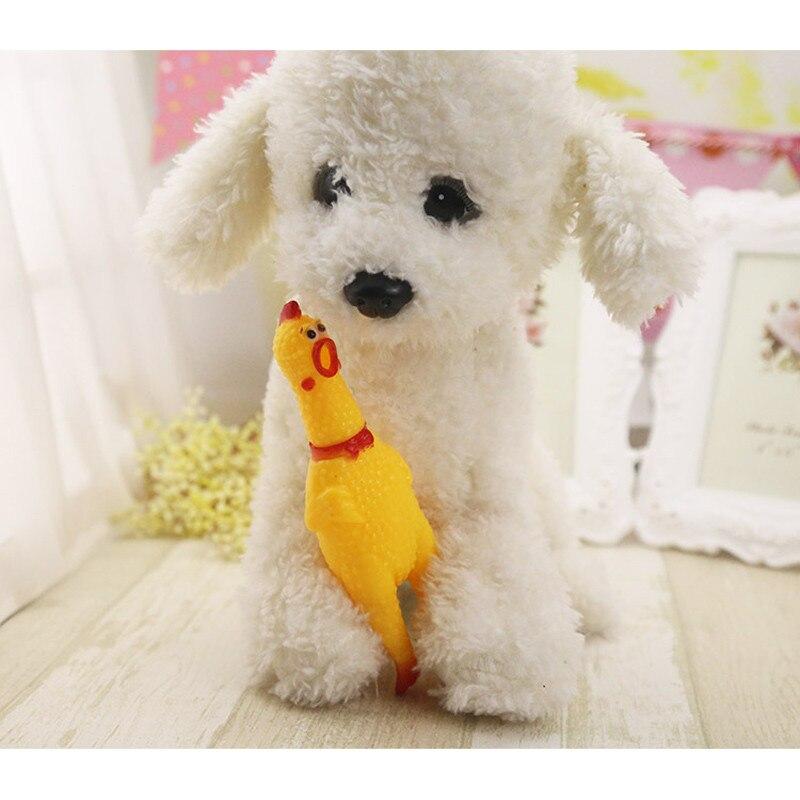 Nieuwe-Grappige-Hond-Speelgoed-Screaming-Rubber-Kip-Squeeze-Sound-Squeak-Speelgoed-voor-Kleine-Honden (1)
