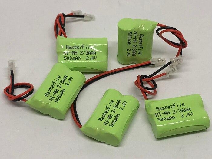 MasterFire 20 paket/los Marke Neue Ni Mh 2/3AAA 2,4 V 500mAh NiMH 2/3 AAA Akku Mit stecker Für Cordless Telefon-in Wiederaufladbare Batterien aus Verbraucherelektronik bei AliExpress - 11.11_Doppel-11Tag der Singles 1