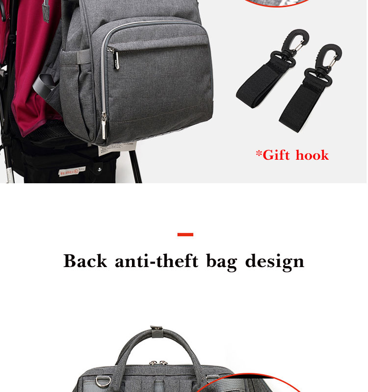 HTB16Jsha3FY.1VjSZFqq6ydbXXaa Nappy Backpack Bag Mummy Large Capacity Bag Mom Baby Multi-function Waterproof Outdoor Travel Diaper Bags For Baby Care