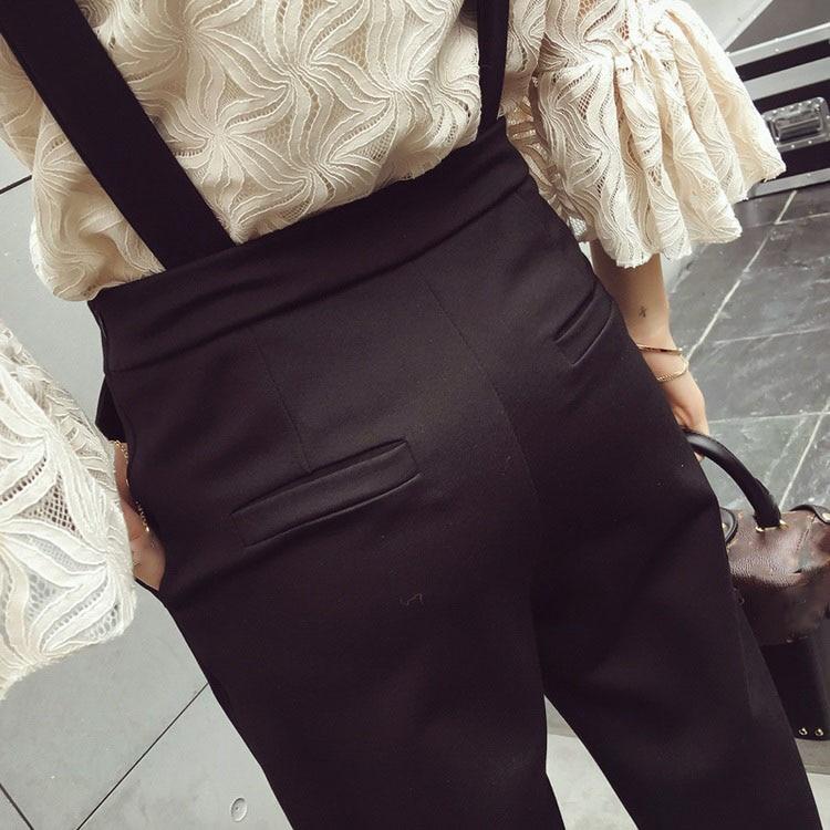 Lunghezza Kong Di Femminile Fit collo Qualità Moda Signora Alta Solido Delle Della Donne Dell'ufficio Versione Colore Top O Dei Pantaloni Caviglia Hong Slim Giocoso Nuovo rIzrT