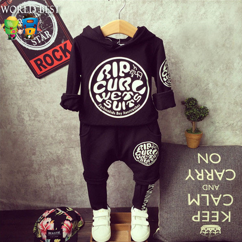 Boys Clothes Children Clothing Set Long Sleeve Sweatshirt Trousers Boy Clothing Set Korean Fashion Clothing Autumn