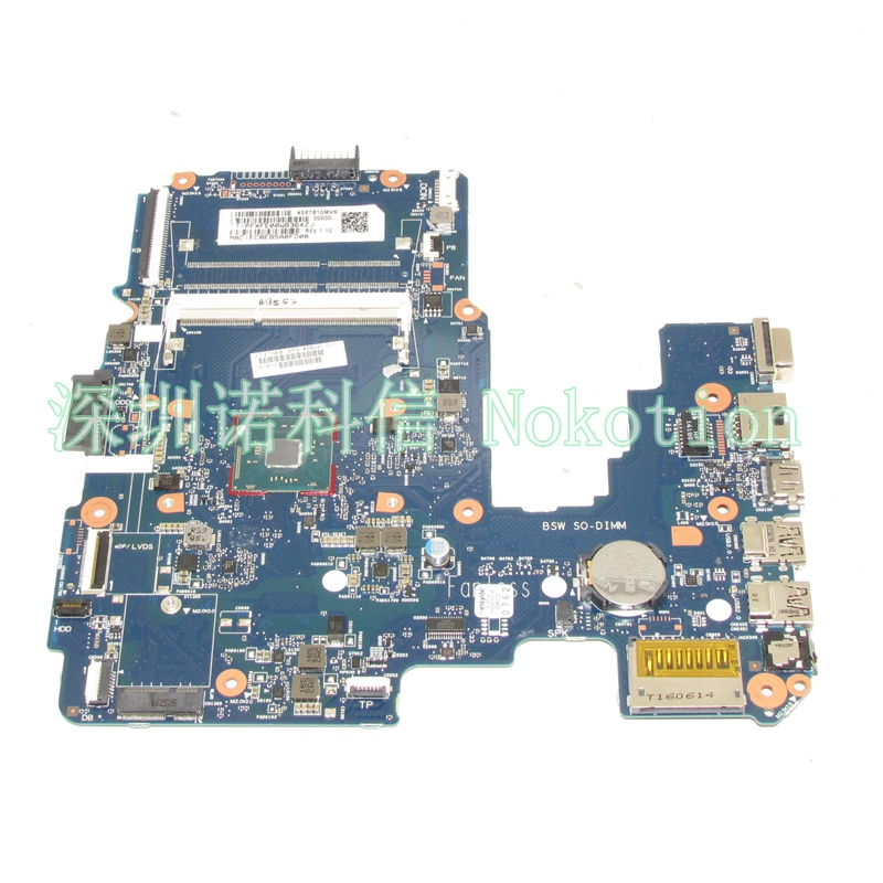 цена на NOKOTION 858040-001 Laptop motherboard For HP 14-AM 6050A2823301-MB-A01 Mainboard works