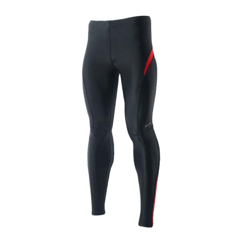 c97f47eae Leggings De Fitness Esportes Dos Homens respiráveis Leggings Collants  Execução Calças Dos Homens Camada de Base de Compressão Musculação Pant