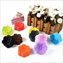 3/5cm Rose Muffins Egg Tart Cup Silicone Baking Mold Tool DIY Mould Design Cake Baking Tool WLLTR