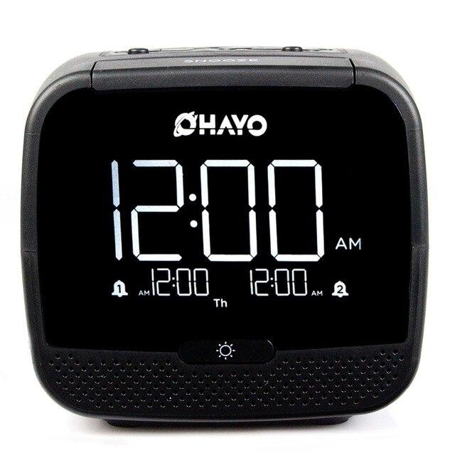 Цифровой Bluetooth Динамик Двойной Будильник Портативный Радиоприемник с Таймером Сна Отсрочки Температуры Fm-радио Y4191A