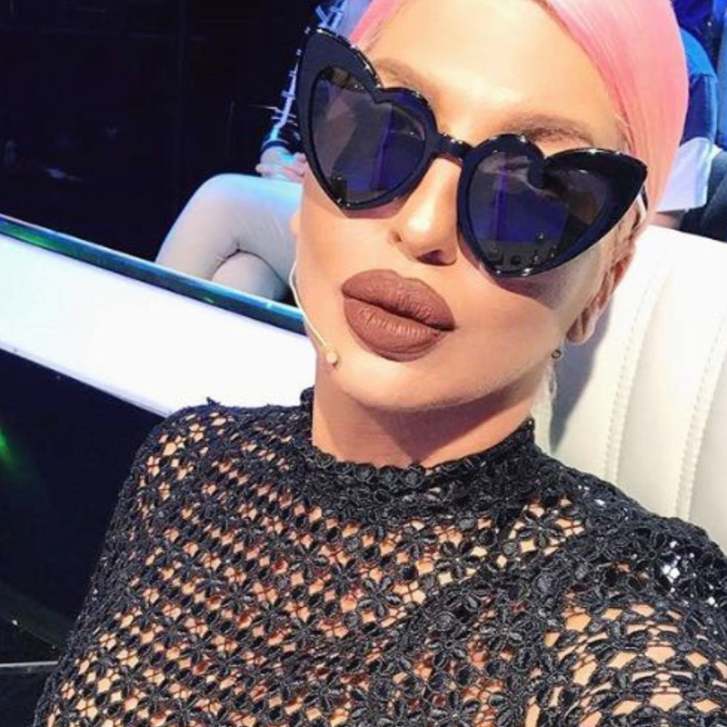 Xonix 2018 جديد الحب القلب نظارات المرأة - ملابس واكسسوارات
