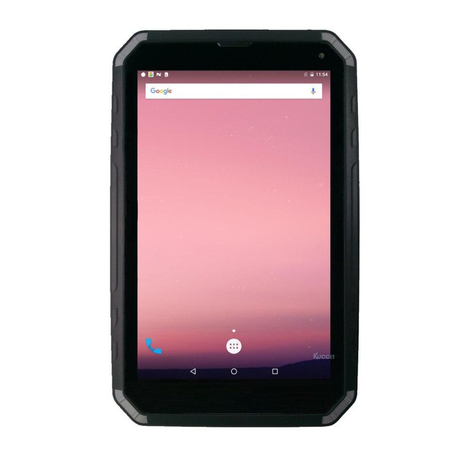 D'origine KT802 Robuste tablet PC Smartphone mince IP67 Étanche Antichoc Antipoussière 8 Tactile 1280x800 GPS OTG 3 gb RAM 8500 mah