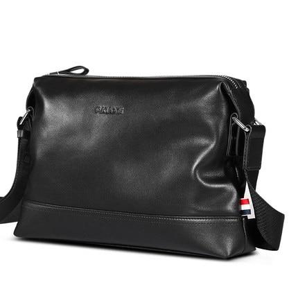 Casual genuine leather shoulder bag for men ,promotional Ipad bag, mens leather bag,vintage messenger bag