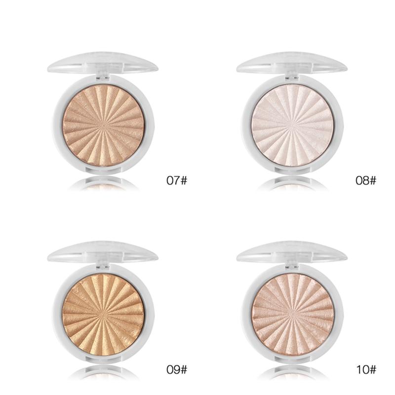 Miss Rose Makeup Shimmer Highlighter Powder Highlighter Palette Base Illuminator Highlight Face Contour Golden Bronzer in Bronzers Highlighters from Beauty Health