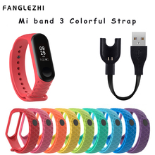 Silicone Wrist Strap Mi Band 3 Accessories for Xiaomi Smart Watch Bracelet Sport Wristbands Miband