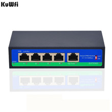 4 + 1 10/100Mbps POE Switch IEEE802.3AF/แต่ละพอร์ตแหล่งจ่ายไฟสูงสุดถึง30W powerระยะทาง250Mสวิทช์ความสามารถ1Gbps