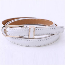 Designer Belts Women Vintage Fashion Elegant Thin Leisure Belt Butterfly Buckle Leather Jeans Dress Waist Band Mulheres Cinto