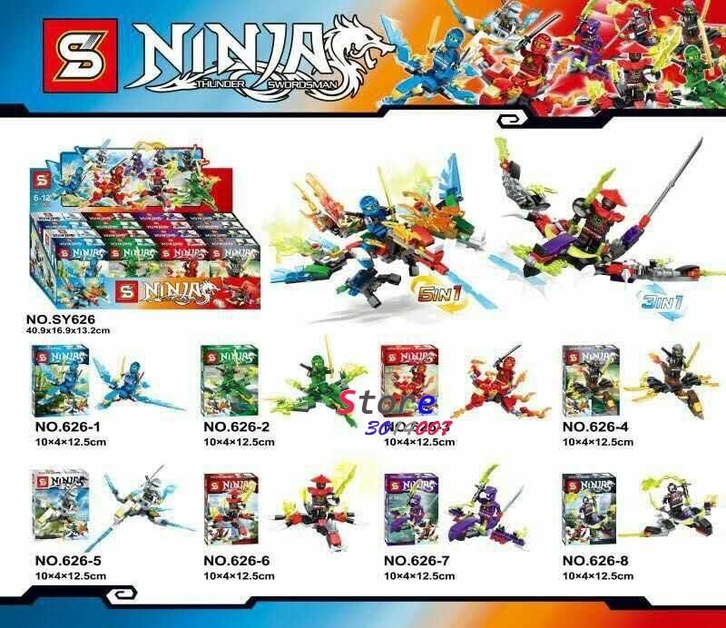 80pcs star wars super heroes SY626 Ninja building blocks figure bricks friends for girl house Gift games kids for children toys