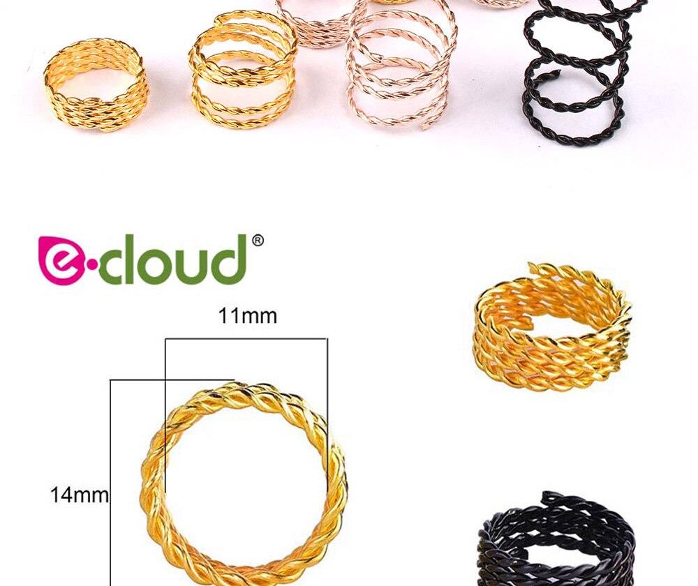 Elos, anéis e tubos