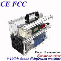 Ce emc lvd fcc fábrica tomada lojas BO 1030QY gerador de ozônio ajustável ar água médica com temporizador 1pc|water air|water ozone generator|water generator -
