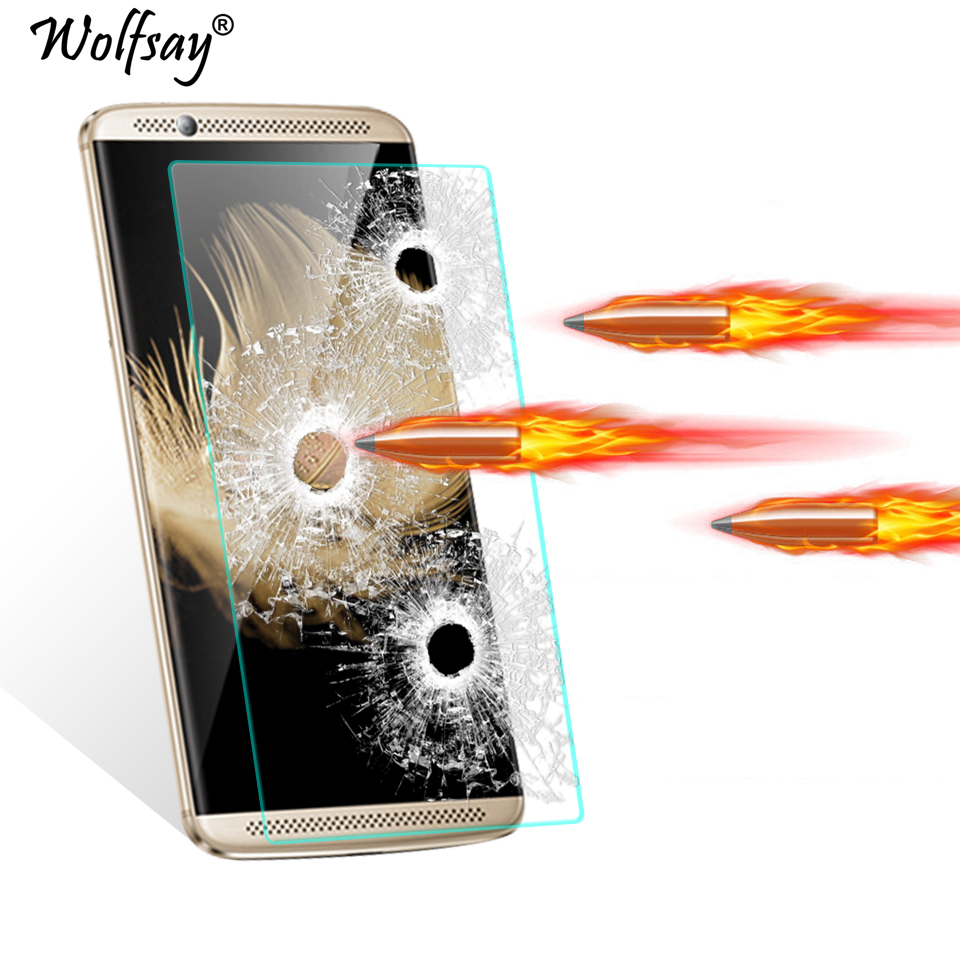 2pcs Screen Protector Glass ZTE Axon 7 Tempered Glass SFor ZTE Axon 7 Glass Axon 7 Axon7 Anti-scratch Protective Film Wolfsay