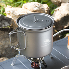 TOAKS 1100ml Ultralight Titanium Pot Outdoor Camping Bowl Cup with Cover