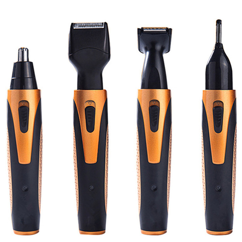 4in1 Mens Razor Beard Tools Epilator Portable Hair Remover Women Care Eyebrow Ear and Nose Hair Trimmer Shave Razors for Shaving
