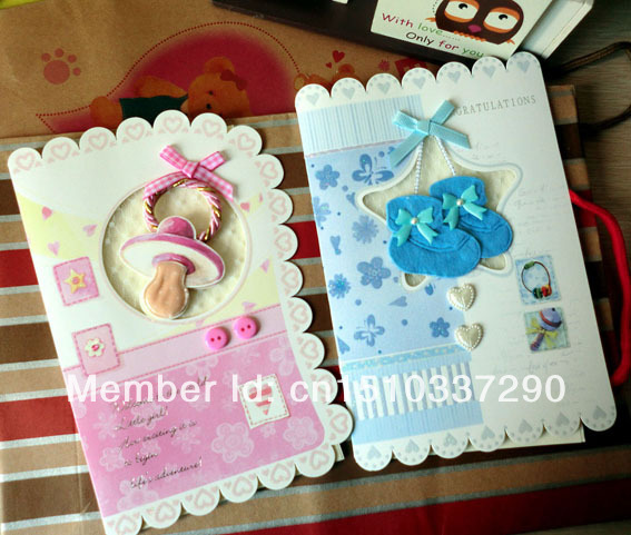 Greeting baby boy girl rattle shoes pacifier stroller dress milk greeting baby boy girl rattle shoes pacifier stroller dress milk bottle patch shower gift card for m4hsunfo