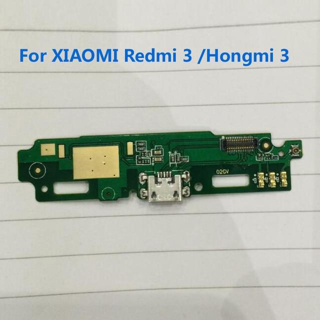 2016 Novo Trabalho Hongmi 3 Doca de Carregamento USB de Carregamento PCB Board flex cable para xiaomi redmi 3 redme 3 hongmi3 telefone celular substituição