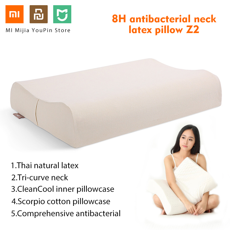 In Stock Original Xiaomi 8H Cool Feeling Foam Cotton Pillow Z2 Super Soft Slow Rebound Memory Antibacterial Neck Support Cushion
