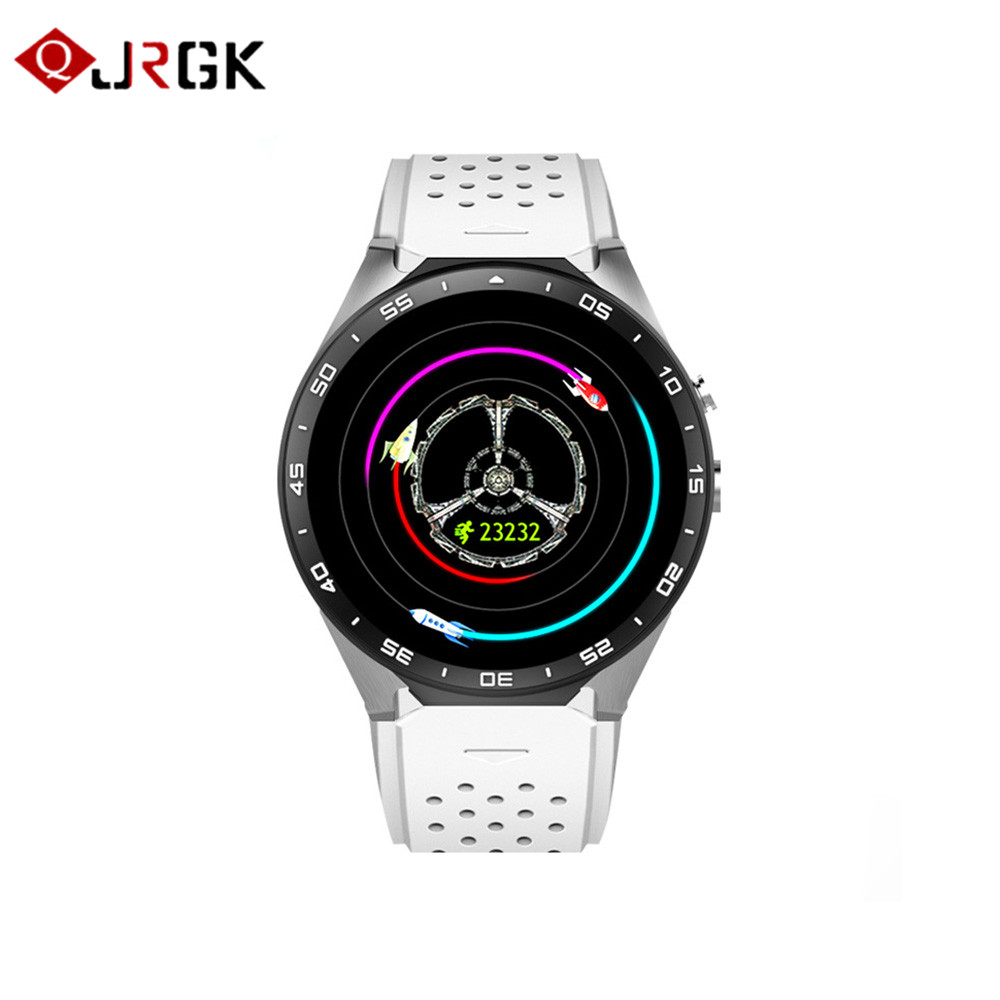 Fuloophi kw88 smart watch men Android 5.1 MTK6580 V4.0 Wifi Smartwatch 3G GPS Watch Phone with 2.0MP Camera PK GT08 K88H