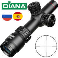 Tactical Riflescope 2-7x20 Mil Dot Reticle Sight Adjustment Lock Flip Scope Sniper Hunting Scopes Shooting Hunting