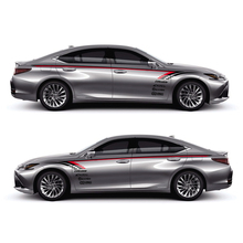 World Datong car styling sport sticker For LEXUS ES200T F SPORT300h350h400h Both side body auto stickers