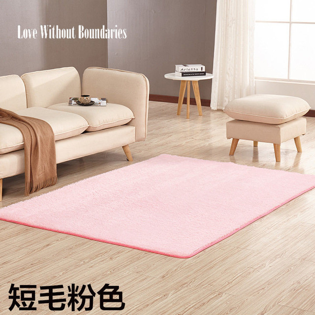 60 160cm Bedroom Carpet Square Rugs Soft Exercise Mats Living Room Door Mat Tea