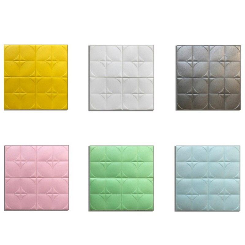 Новые 3D наклейки на стену из пенопласта самоклеющиеся водостойкие обои наклейка пилинг и Стик художественные стеновые панели для украшени...