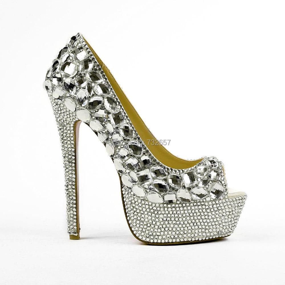 2015 y Wedding Bridal Bridesmaid Shoes Pu Leather Handmade