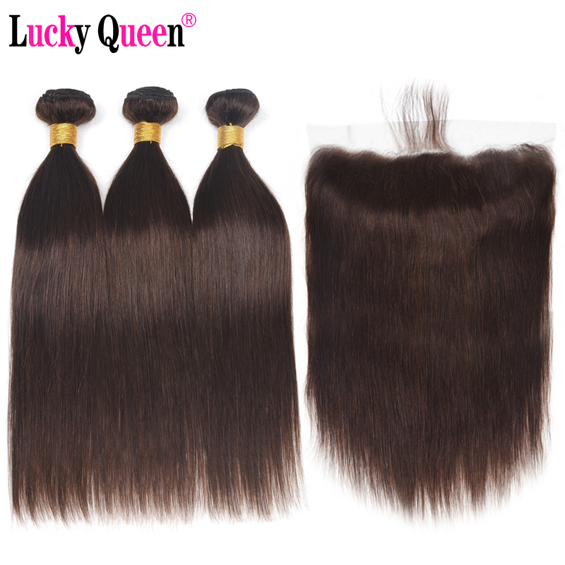 1b 2 4 Peruvian Straight Human Hair Bundles with 13 4 Frontal Closure Non Remy