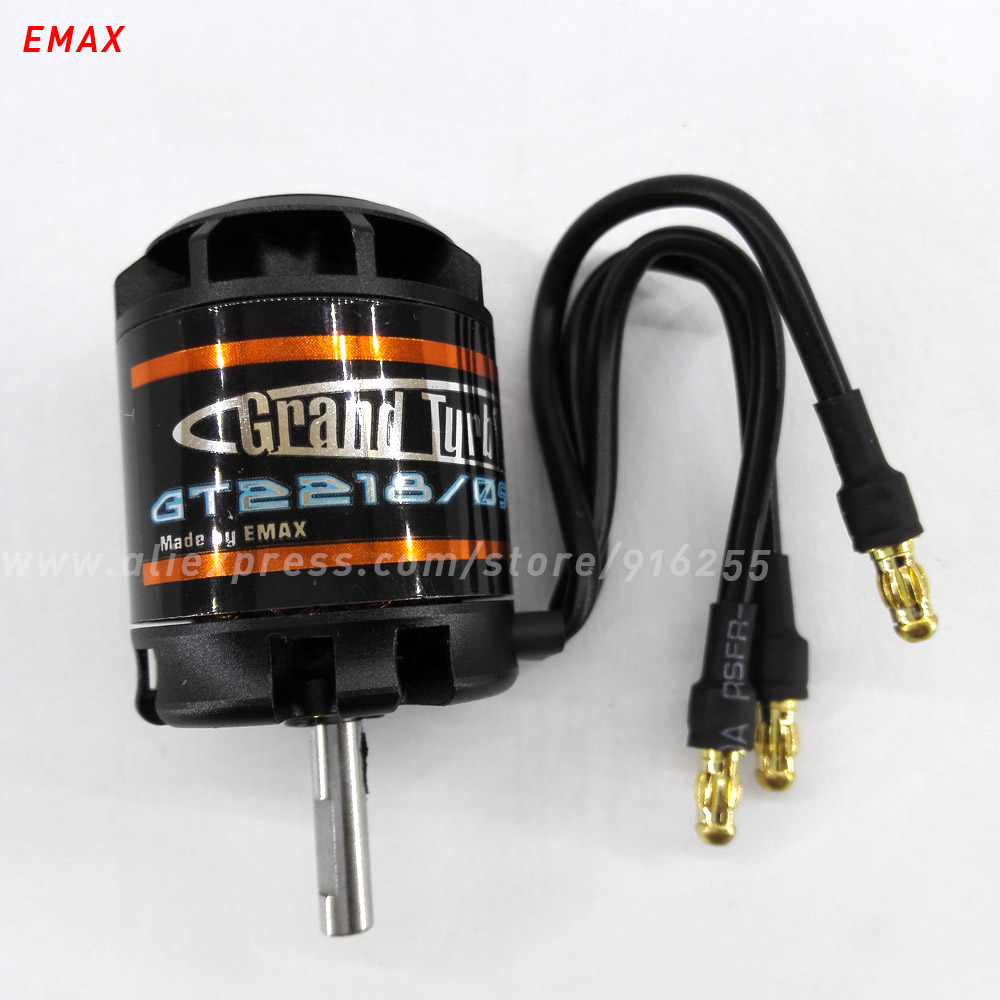 EMAX rc electric 930kv 1000kv 1100kv brushless motor model airplane outrunner GT 4mm shaft 2 3s