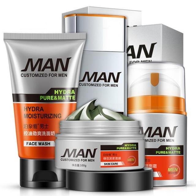Brand Man Face Care Makeup Set Fashion Men Cosmetics Kit Anti