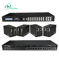 HDMI Matrix 8X8 8 in 8 Out and Four way HDMI Extender 164ft/50m Support 3d 1080p RS232 TCP/IP IRcontrol