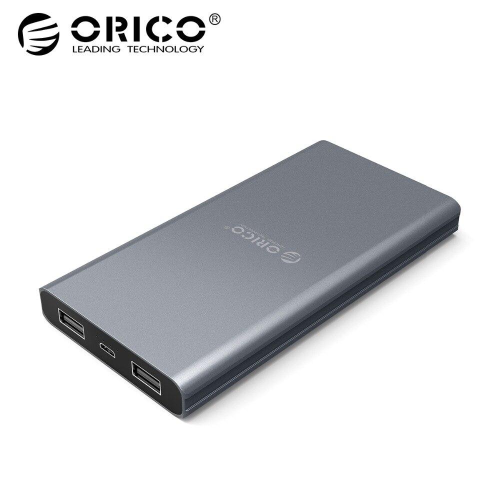 ORICO 10000mAh External Battery Dual Output Power