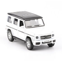 One Piece Car Toys Diecast Vehicle Sets 1:36 Alloy Diecast Benz G63AMG SUV Model Car Toy Pull Back Educational Kids Toys стоимость