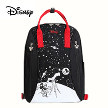 Disney Baby Diaper Bags PU leather cute Bolso Maternal Stroller Bag Nappy Backpack Maternity Bag Mommy Bakim Cantalari Backpack цена 2017