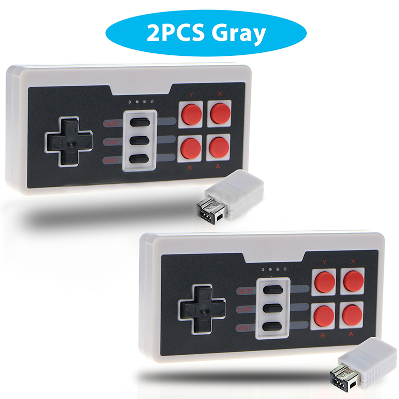 New 1pc/2pcs Lot Wireless Game Controller with Play Remote Control Gaming Controller Gamepad For NES Classic Edition