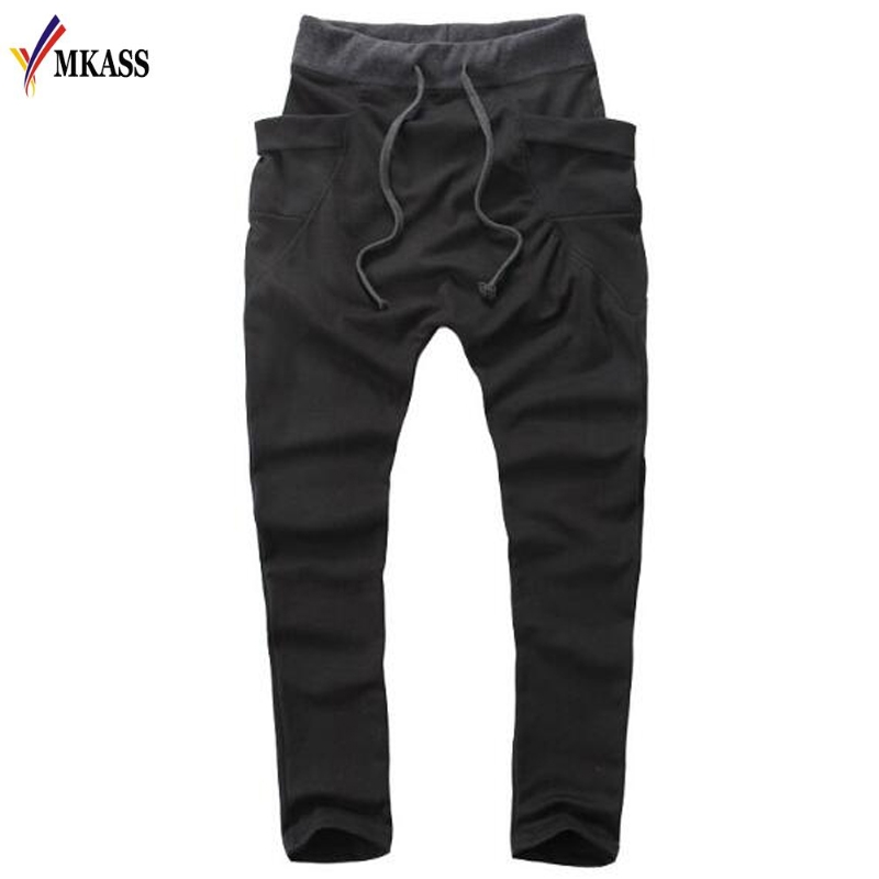 New Fashion Mens Pants For Spring Hip Hop Clothing Street Trousers Fitness Sweatpants Casual Sweat Pants