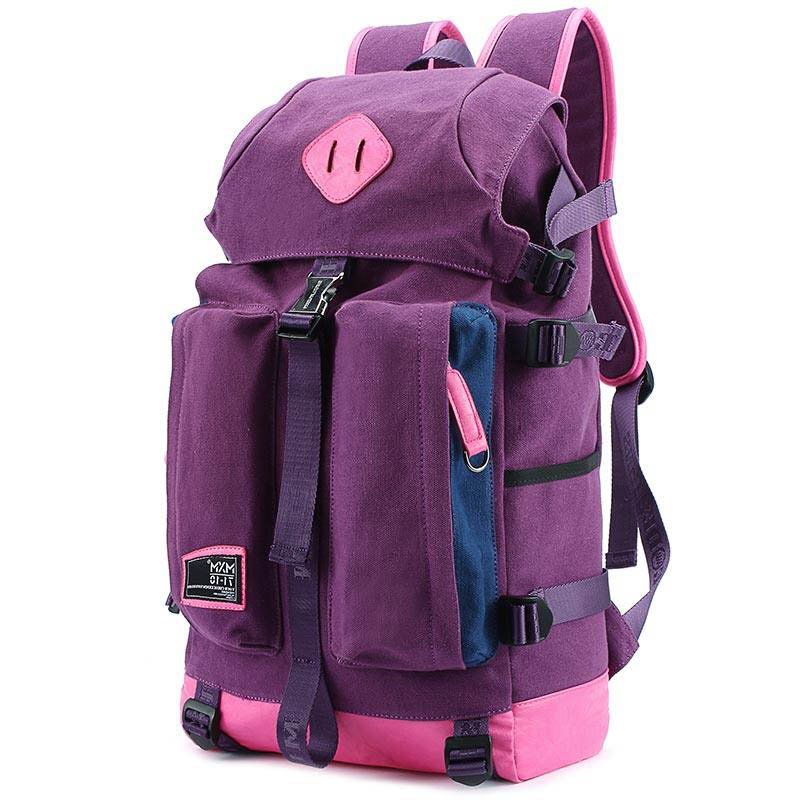 все цены на Japan And Korean Style Fashion Large Capacity Practical Travel Backpack Women Men Designer Drawstring Flap Backpack Schol Bag