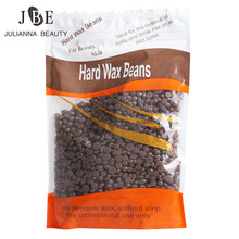 1 X 300g Epilation Hard Wax Beans 300g/Bag Free Paper Chocolate Taste Painless Large-Scale Rapid Epilation Shaving Hair Removal