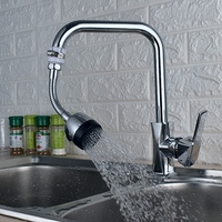 Kitchen Basin Faucet Lengthening Bubblers Waterproof Sprinklers Extend The Filter Strainer Fittings